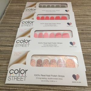 4 Nail (Color Street) Sets